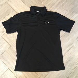 Women's Nike Golf Black Polo
